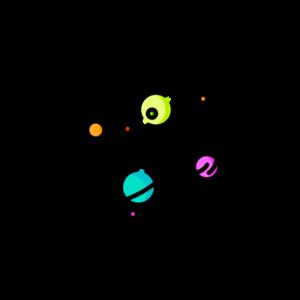 Космос (L'espace) — вакуум, планеты, галактики