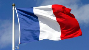 Современный флаг фрации