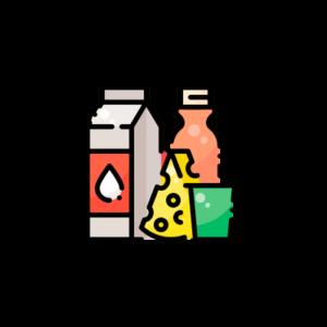 Различные молочные продукты