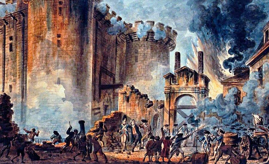 Крепость во Франции