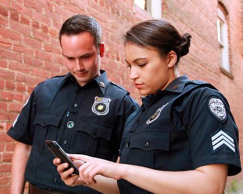 Полиция на французском языке