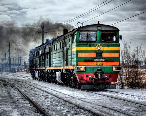 Французские слова на тему поезд