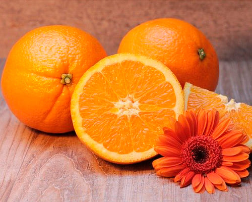 Апельсин на французском языке