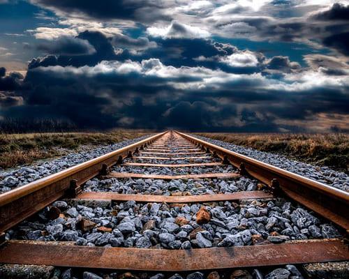 Железная дорога на французском языке